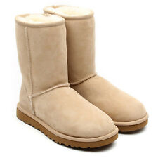 UGG Australia Womens 5825 Classic Short Slip On Boot Sand