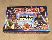 Star Wars Episode 2 Episode II Collector Edition Monopoly Board Game