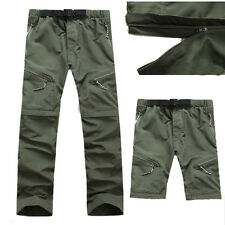 High Quality Men's Outdoor Pants Zip Off Quick Dry Hiking Trousers Removable