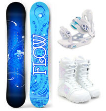 2017 FLOW Star 147cm Women's Snowboard+M3 Bindings+M3 Boots NEW