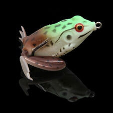 1pcs Fishing Frog Fishing Lure 5.5CM/16g Topwater Soft Artificial Lure Frog Bait