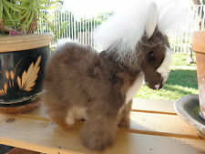 Brand New Hand Made By Our Artisan in Peru Baby Alpaca Plush Horse #33002