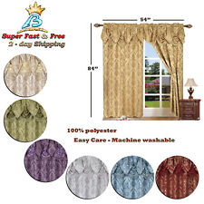 curtains 84 inch long curtain panels set of 2 drapes for living room
