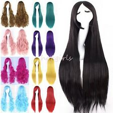 25% Off Real Long Straight Curly Cosplay Wig Wavy Hair Fancy Party Full Wigs WG6