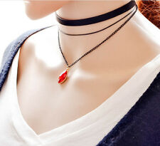 Fashion Women New Vintage Style Layer 3 Choker Chain Necklace Gothic Style Hot