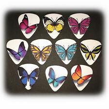 Butterfly Guitar Pick, Matte 0.90mm Plectrums, also available as fridge-magnets