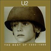 U2 CD The Best of 1980-1990