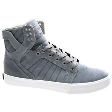 Supra Shoes. Supra Mens Shoes. Supra Skytop Slate Blue/White Shoe S18241