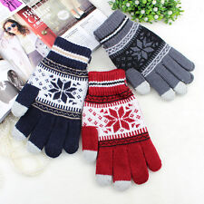 Men Women Gloves Touch Screen Glove Warm Winter Gloves Knitted Touch Gloves New