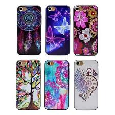 Hot Fantasy Butterfly Flower Tree Watch Soft Shell Case Cover Skin for iPhone 7