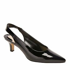 Ros Hommerson Women´s Kaitlin Black Patent Leather Slingback Pump