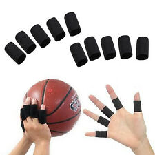10pcs Stretchy Finger Sleeve Support Wrap Arthritis Guard Aid Soft Elasticity