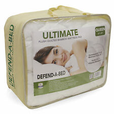 Defend A Bed Ultimate Bamboo Rayon Quilted Waterproof Mattress Protector