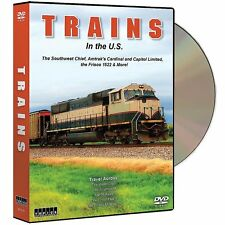 Trains In The US 6-Disc DVD Set - Video Travel Scenic Railroad  NEW
