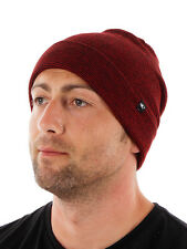O'Neill Cap Beanie Hat Winter hat All Year red Fine knit Stripes