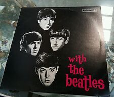 THE BEATLES LP WITH THE BEATLES MINT VINYL PARLOPHONE PCSO -3045