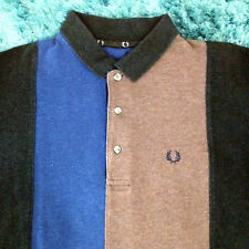 Fred Perry Long Sleeve Polo Shirt Size med