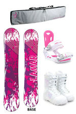 Lamar Belle 141 Womens Snowboard+M3 Bindings+M3 Boots +PADDED BAG - NEW