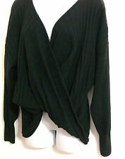 Puma Women's UM Shutter Knit Sweater by Hussein Chalayan Black Size Medium M