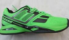 BABOLAT juniors Propulse tennis shoes green black All Court order 1/2 size up