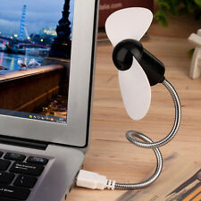 Flexible USB Mini Cooling Fan Cooler For Laptop Desktop PC Computer FT