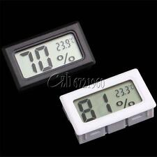 LCD Digital Temperature Humidity Thermometer Outdoor Hygrometer Reptile Meter C