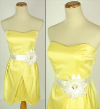 WINDSOR Yellow Juniors Homecoming Evening Cocktail Dress Available Size 7,9,11