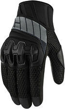 Icon Overlord Womens Mesh Gloves Stealth