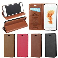 Newest Magnetic PU Leather Flip Wallet Card Stand Case Cover For iPhone 7 7 Plus