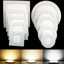Epistar Dimmable Recessed LED Panel Light Ceiling Down Bulb 9W 12W 15W 18W 21W