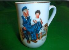 """NORMAN ROCKWELL """"THE LIGHTHOUSE KEEPERS DAUGHTER"""" MUG"""