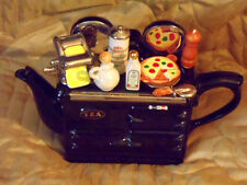 Teapottery Italian Aga limited edition Teapot Brand new boxed