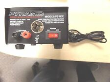 Pyramid PS-9KX 12Volt Regulated Power Supply PS7KX Universal & Cigarette Lighter