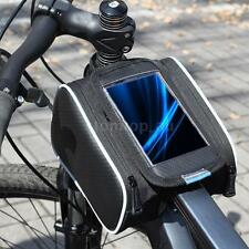 Roswheel Cycling Bicycle Front Top Tube Frame Pannier Double Bag Pouch New C7I4