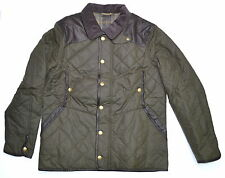 BARBOUR Fieldmaster Quilted Waxed Cotton Jacket