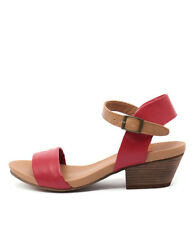 New I Love Billy Contessa Red/Tan Women Shoes Casuals Sandals Heels