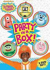 Yo Gabba Gabba!: Party in a Box (DVD, 2011, 3-Disc Set)