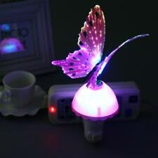 US Plug 5W LED Light Control Butterfly Shaped Decoration Night Lamp