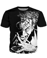 2016 New Fashion Womens/Mens Bad Joker Funny 3D Print Casual T-Shirt JK016