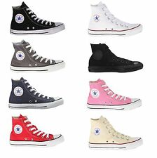 Converse All Star Chuck Taylor Hi Top Black, Grey, Blue, Red, White, Pink