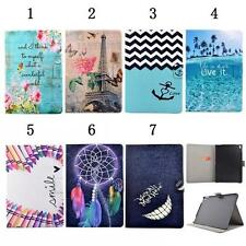 Card Holder Flip Folding Folio PU Leather Stand Wallet Cover Case For Apple iPad