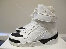 -59%OFF Givenchy White Tyson Leather High-Top Sneakers: 42, 41.5, 41