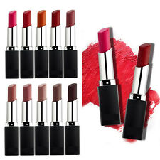 10 Colors Matte Retro Red Lip Cream Lipstick Waterproof Long Lasting Nude Plump
