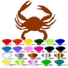Crab Silhouette for Macbook Laptop Car Window SUV Wall Door Helmet Decal Sticker
