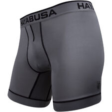 Hayabusa High-Level Performance Moisture Wicking Boxer Briefs - Gray