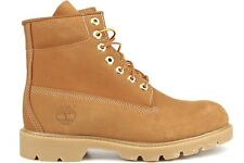 Timberland 6-Inch Basic 10066 Mens Wheat Casual Waterproof Nubuck Leather Boots