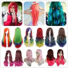 Cheap Synthetic Hair Cosplay Wigs 60/80/100CM Curly Straight Heat Resistant Wig