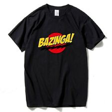 bazinga t shirt big bang theory sheldon cooper cotton men