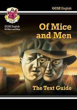 GCSE ENGLISH TEXT GUIDE - OF MICE AND MEN - CGP Books (Paperback, 2002)
