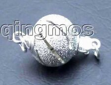 SALE Wholesale 10X Silver Plated 10mm Round 1 strings Clasp-gp143 Free shipping